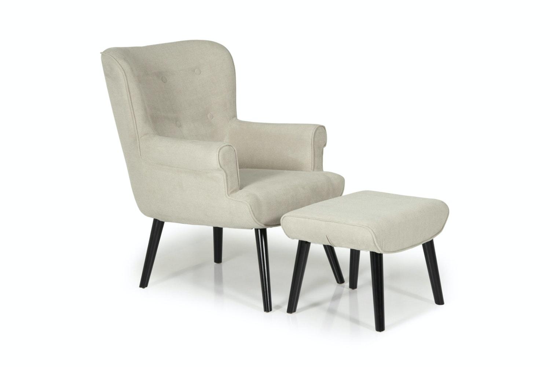 Arianna Bedroom Armchair | Mink
