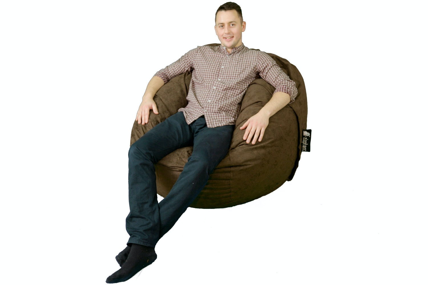 Elephant Kumo Bean Bag | Brown