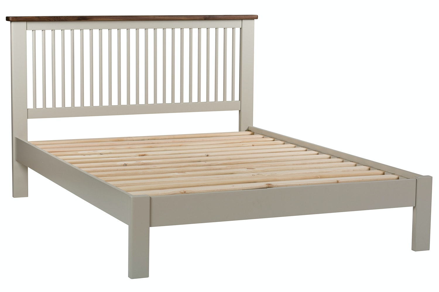 Kent King Round Slat Bed Frame | 5ft
