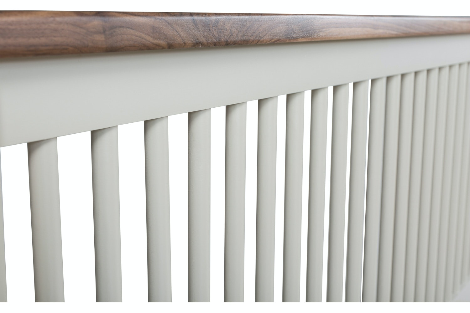 Kent Double Round Slat Bed Frame | 4ft6