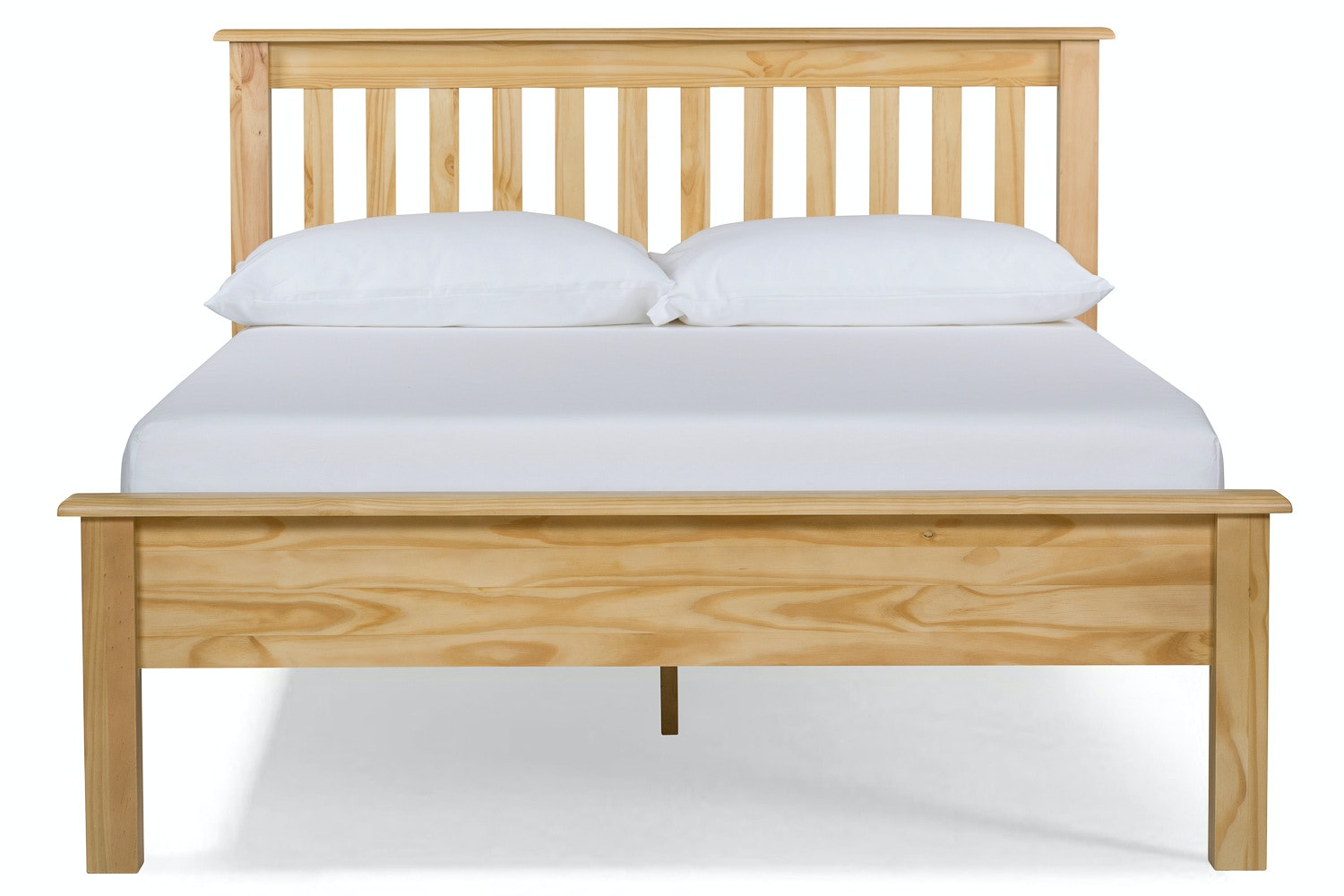 Shaker King Bed Frame | 5ft | Natural