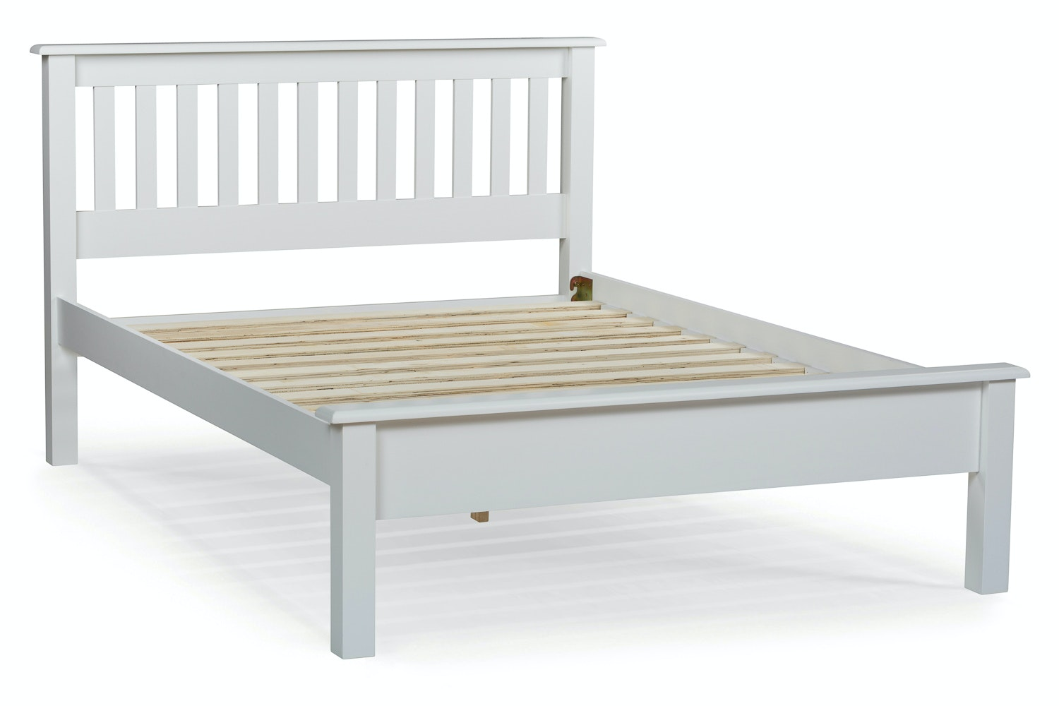Shaker Small Double Bed Frame | 4ft | White
