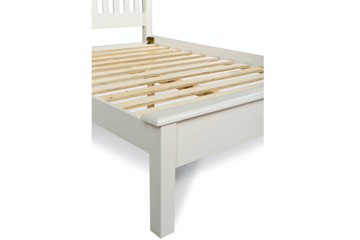 Shaker Double Bed Frame | 4ft6 | White