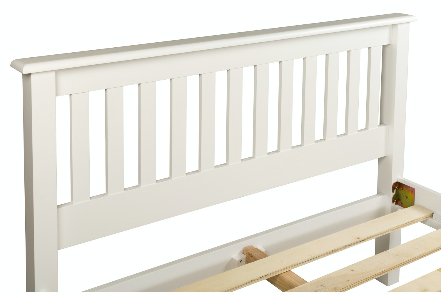Shaker King Bed Frame | 5ft | White