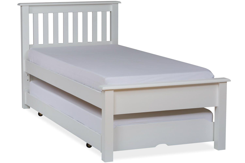 Shaker Trundle Bed Frame 3ft White Ireland