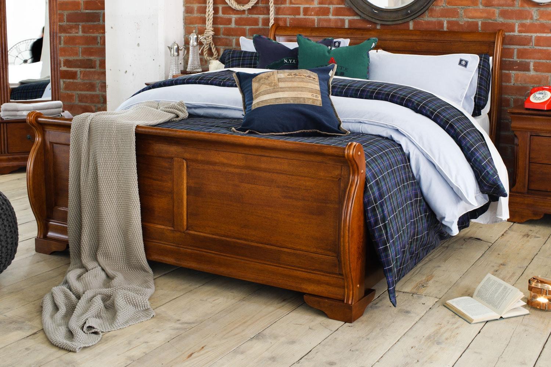 Chardonnay Double Bed Frame | 4ft6 | Dark Oak