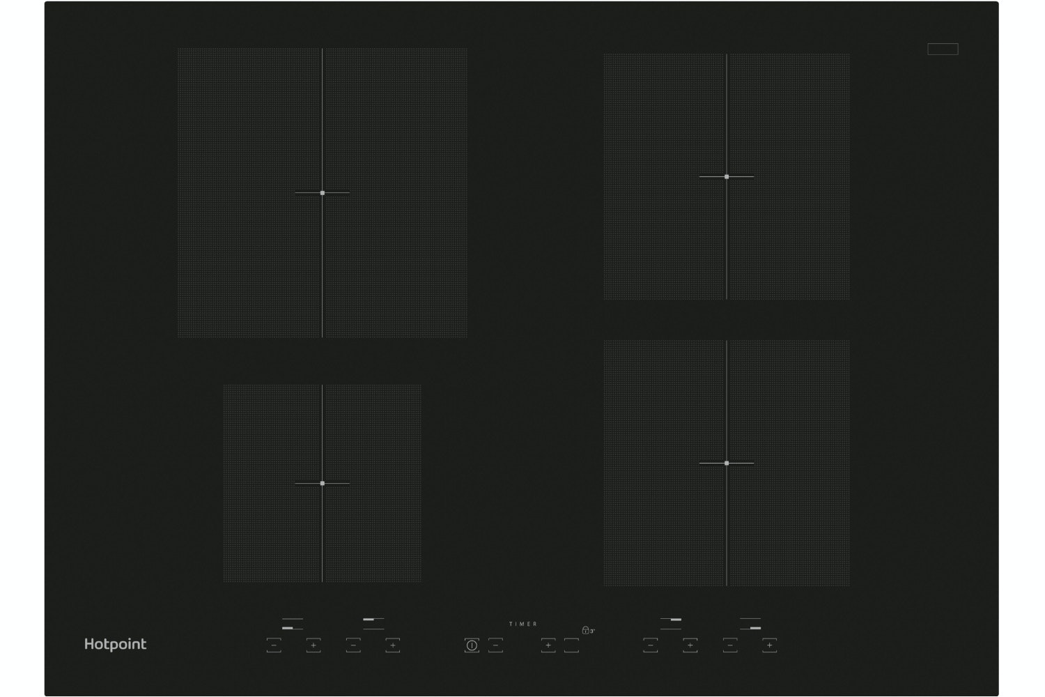 Hotpoint 70cm Induction Hob | CID740B