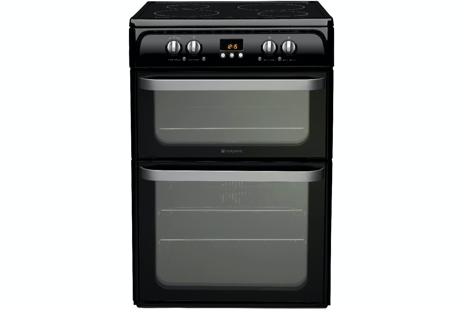 Hotpoint 60cm Electric Cooker | HUI614K