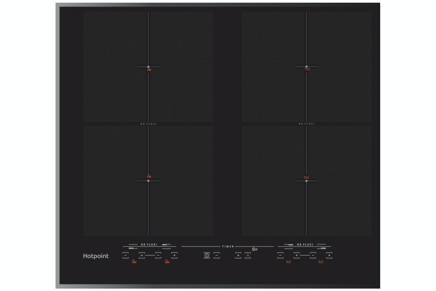 Hotpoint 60cm Induction Hob | CIU642FB