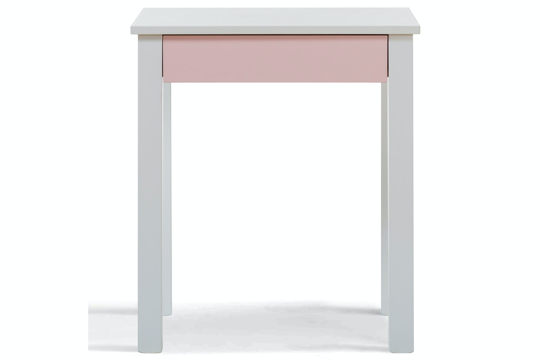Urban 1 Drawer Study Desk | Pink Drawers