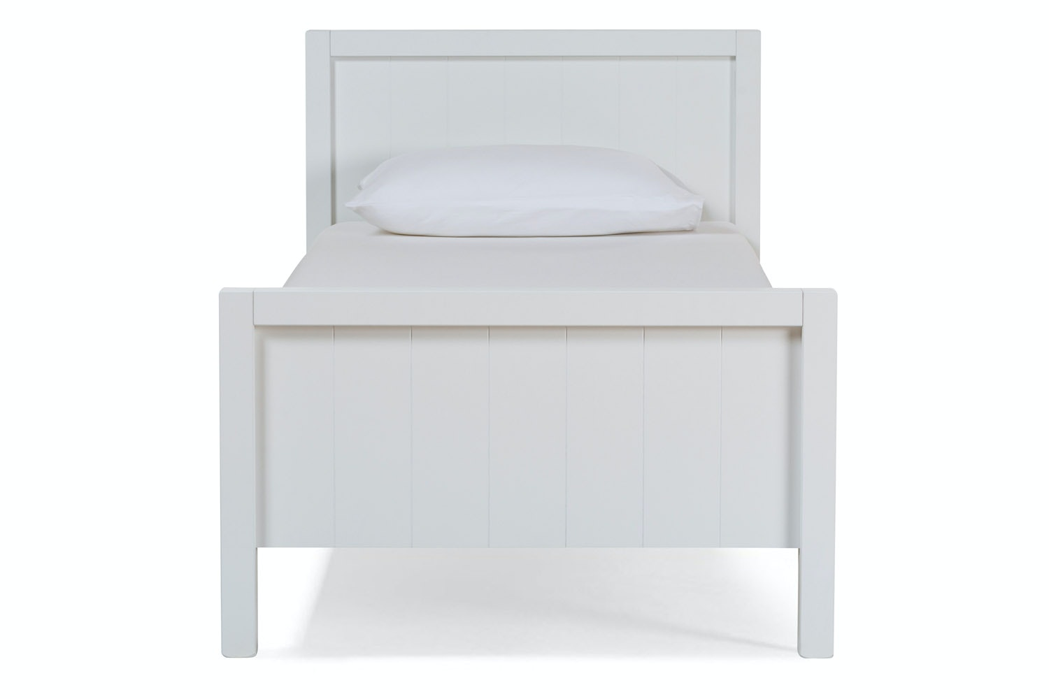 Urban White Single Bed