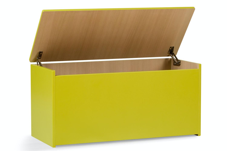 Urban Small Blanket Box | Green