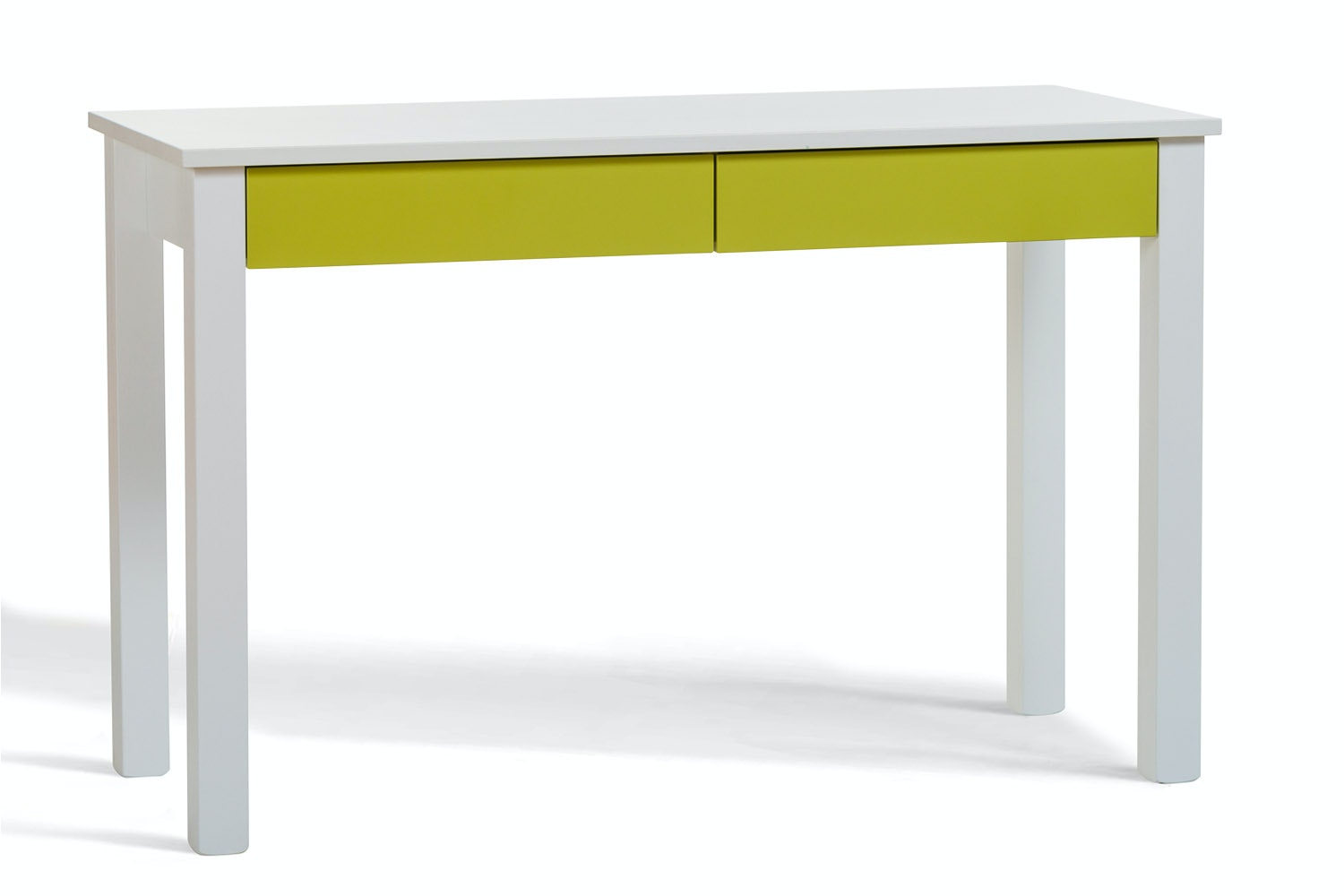 Urban 2 Drawer Study Desk | Green Drawers