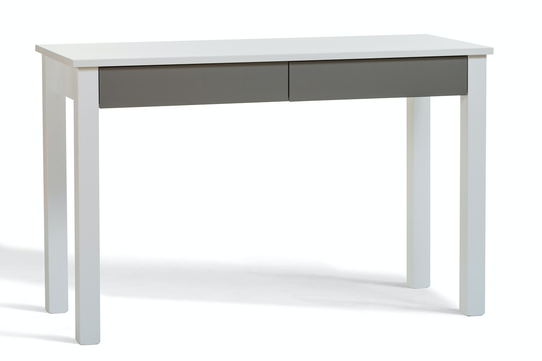 Urban 2 Drawer Study Desk | Grey Drawers
