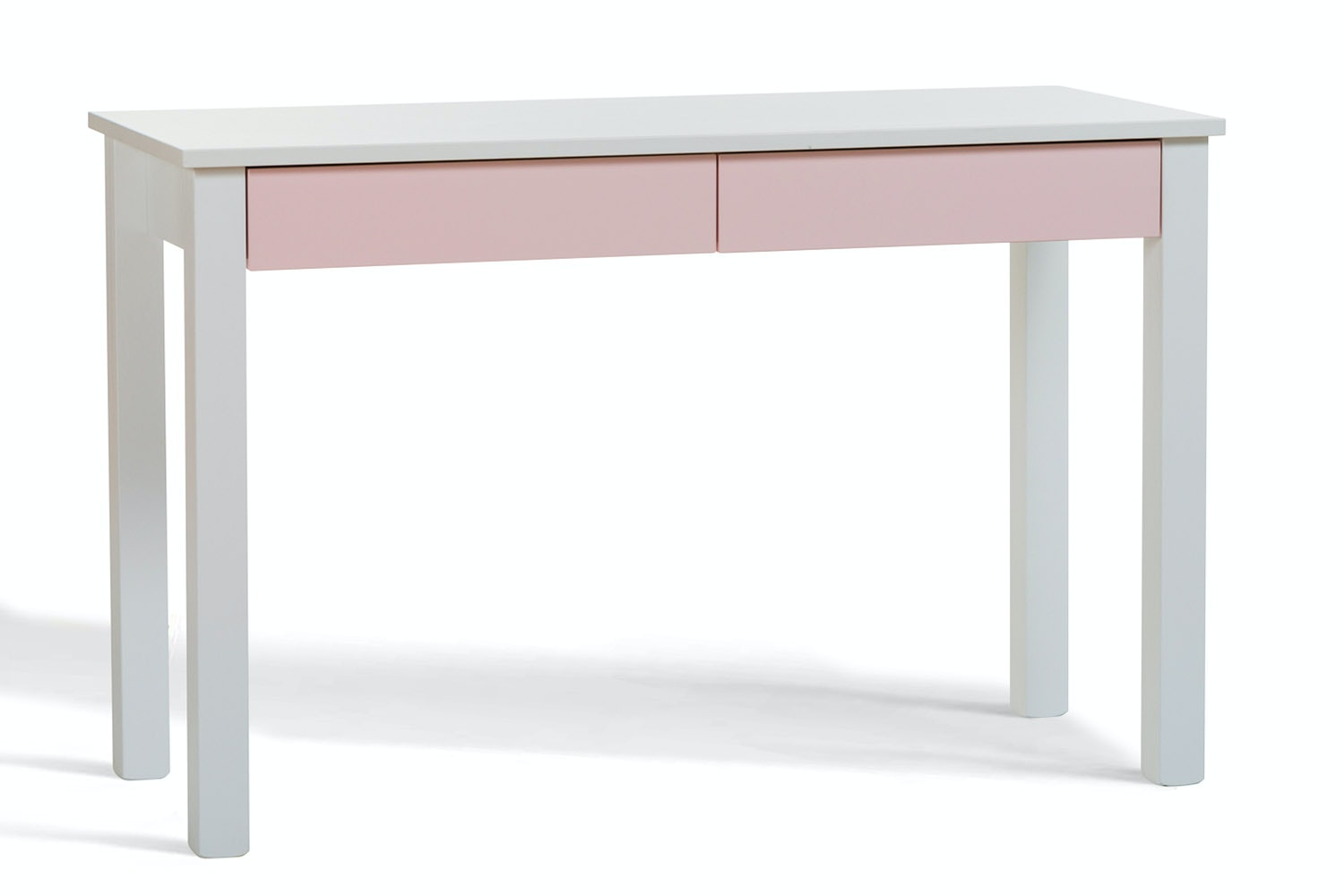 Urban 2 Drawer Study Desk | Pink Drawers