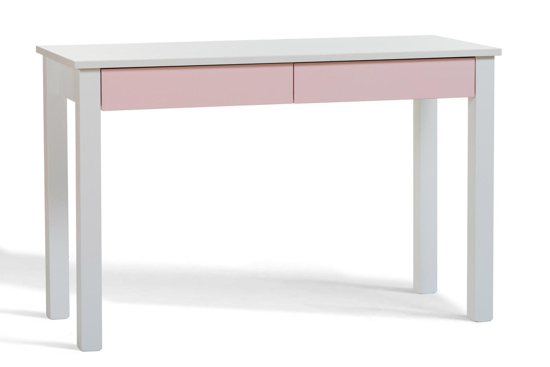 Urban 2 Drawer Study Desk | Pink Drawers