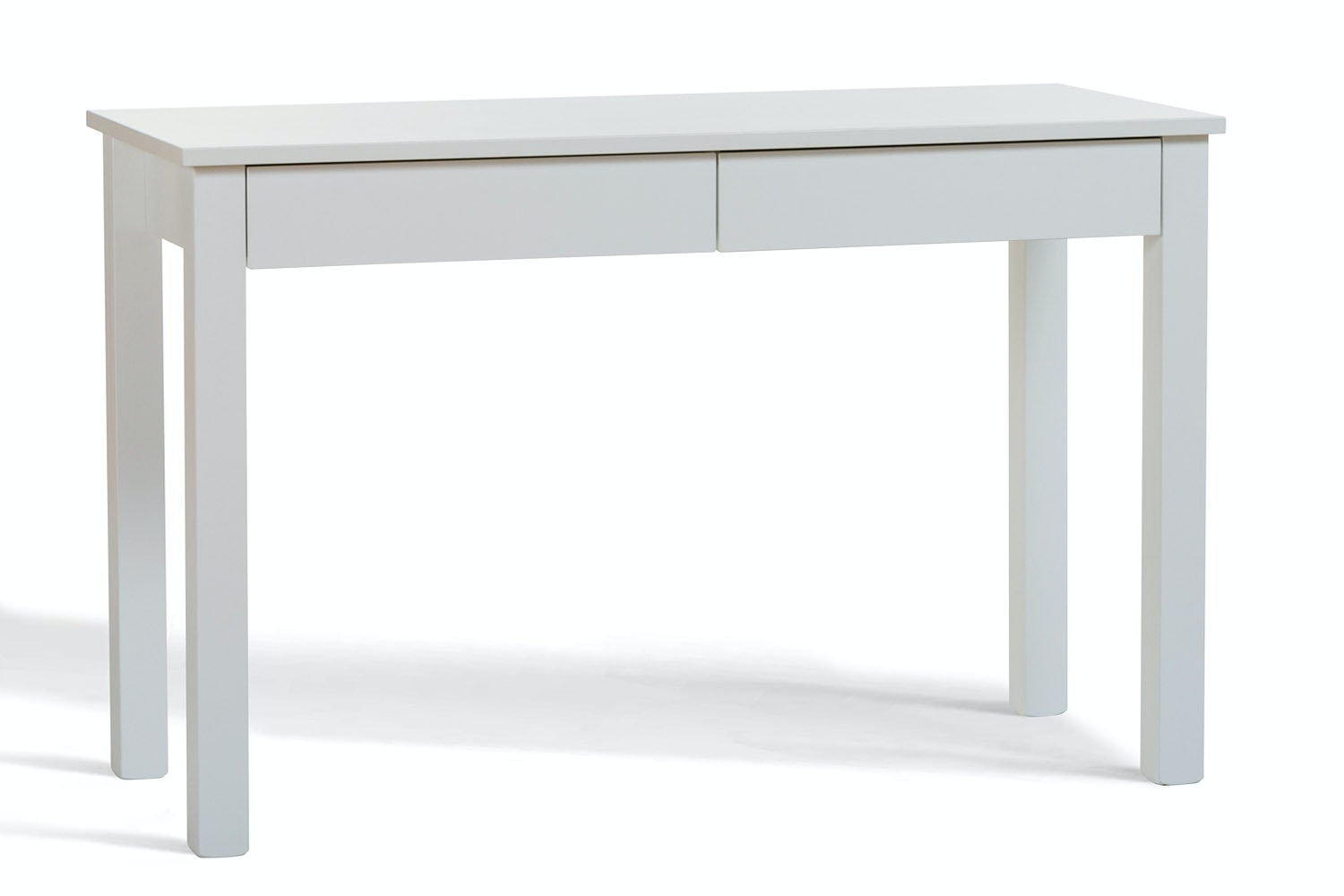 Urban 2 Drawer Study Desk | White Drawers