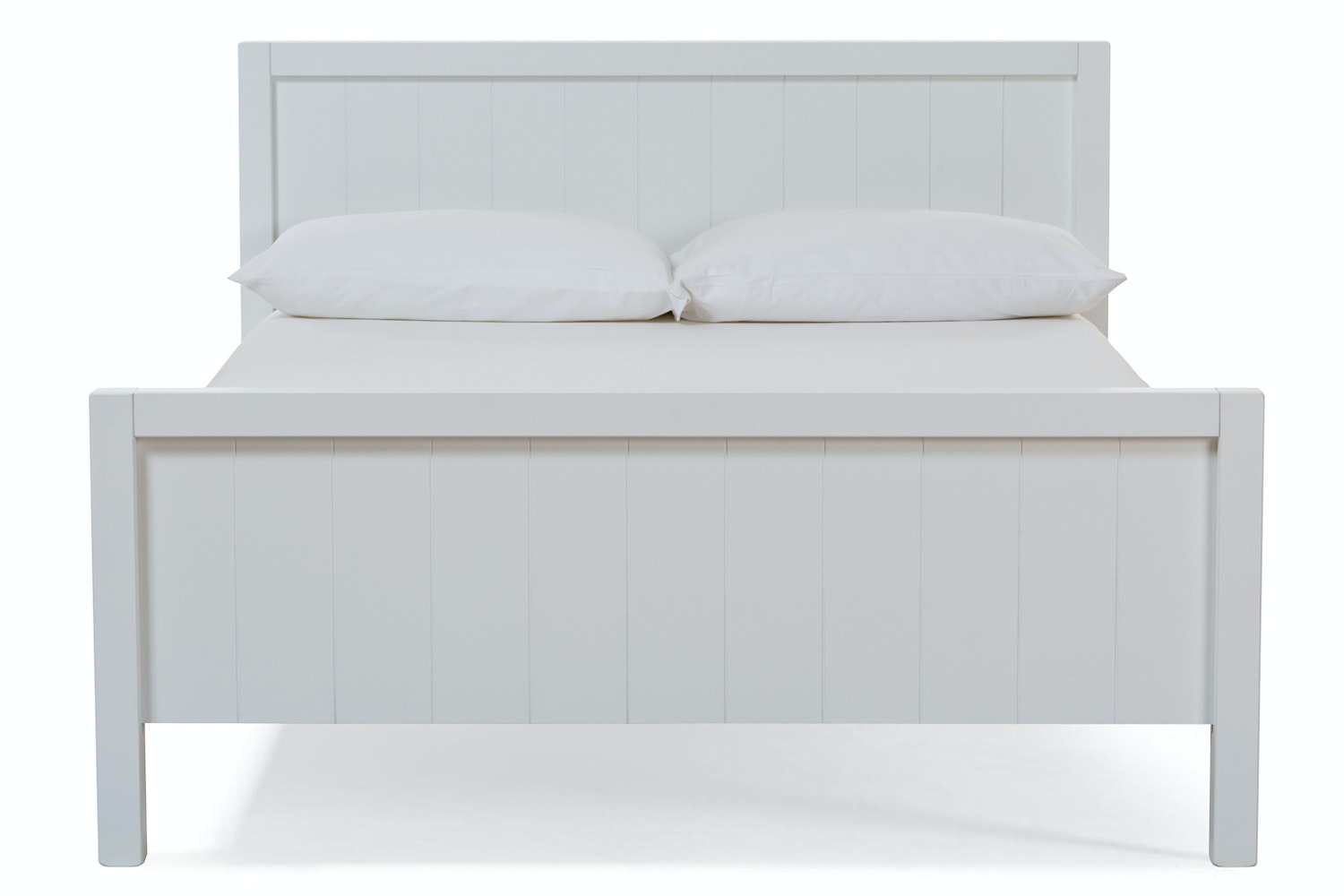 Urban White Double Bed | 4ft6