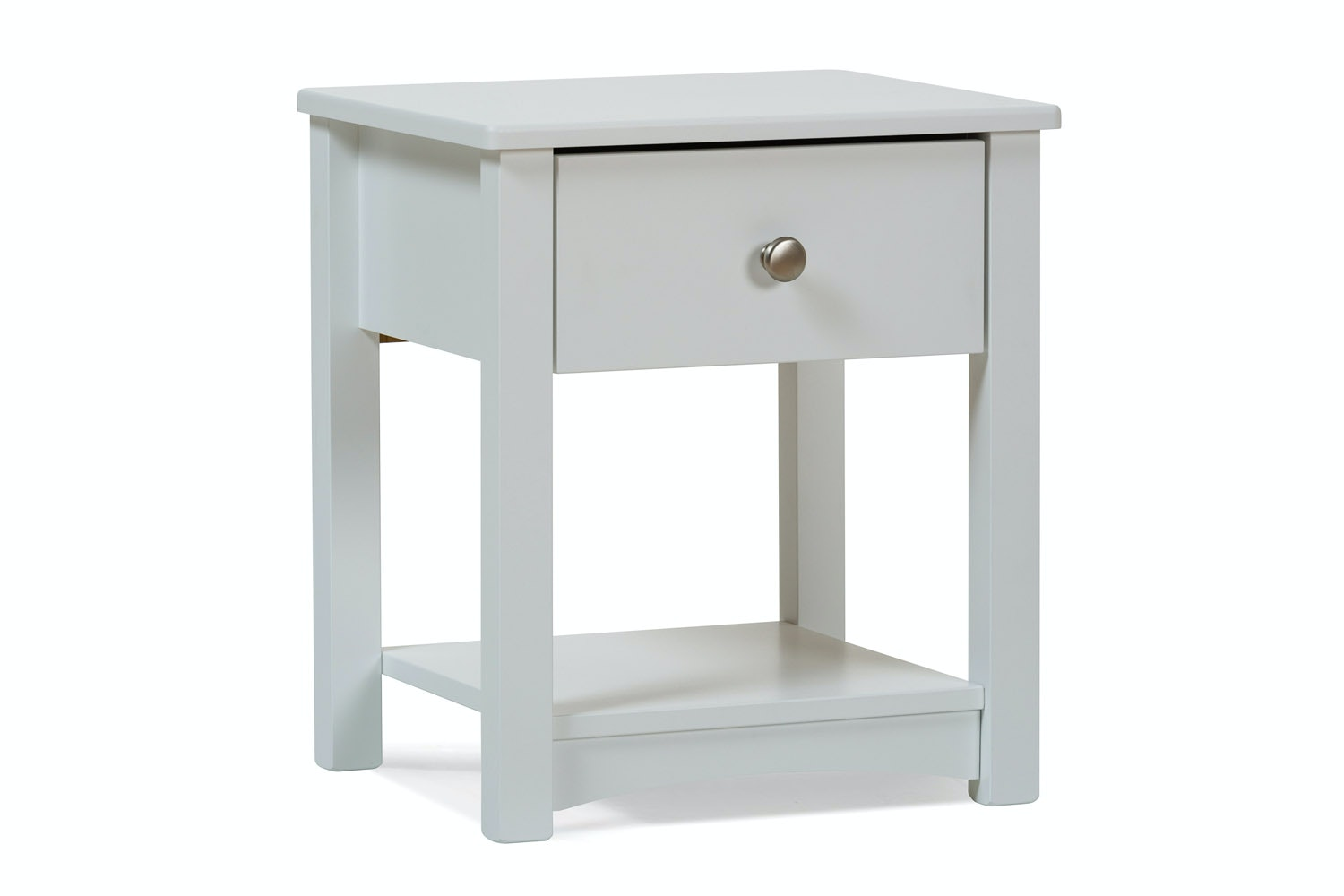 Urban White Bedside Locker | White Drawer