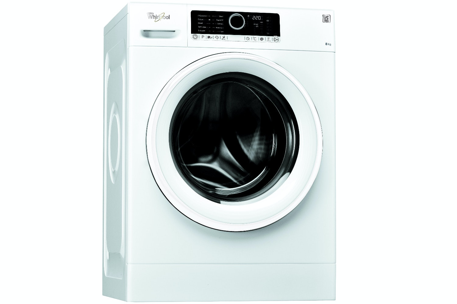 Whirlpool 8kg 6th Sense Washing Machine | FSCR80415