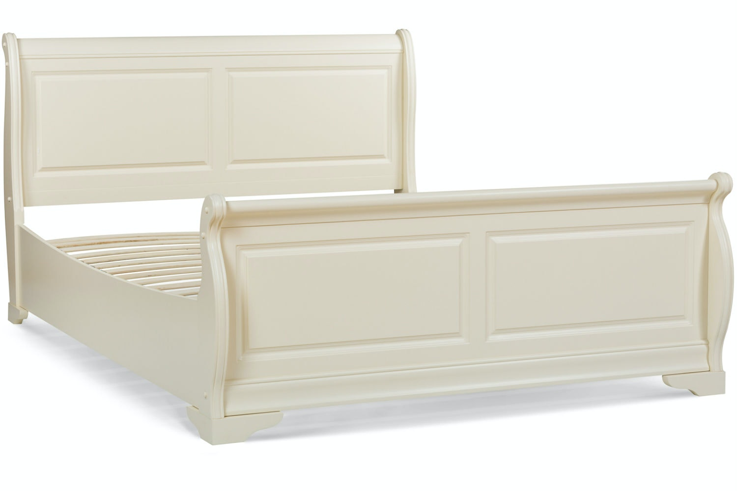 Chardonnay King Bed Frame | 5ft | Cream