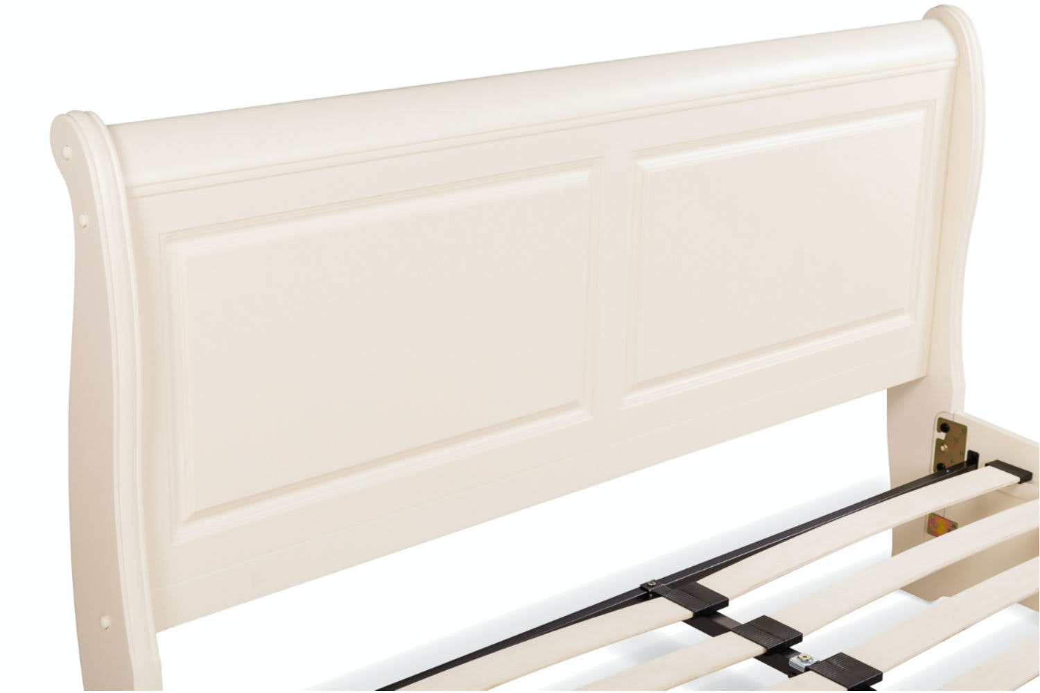 Chardonnay Double Bed Frame | 4ft6 | Cream