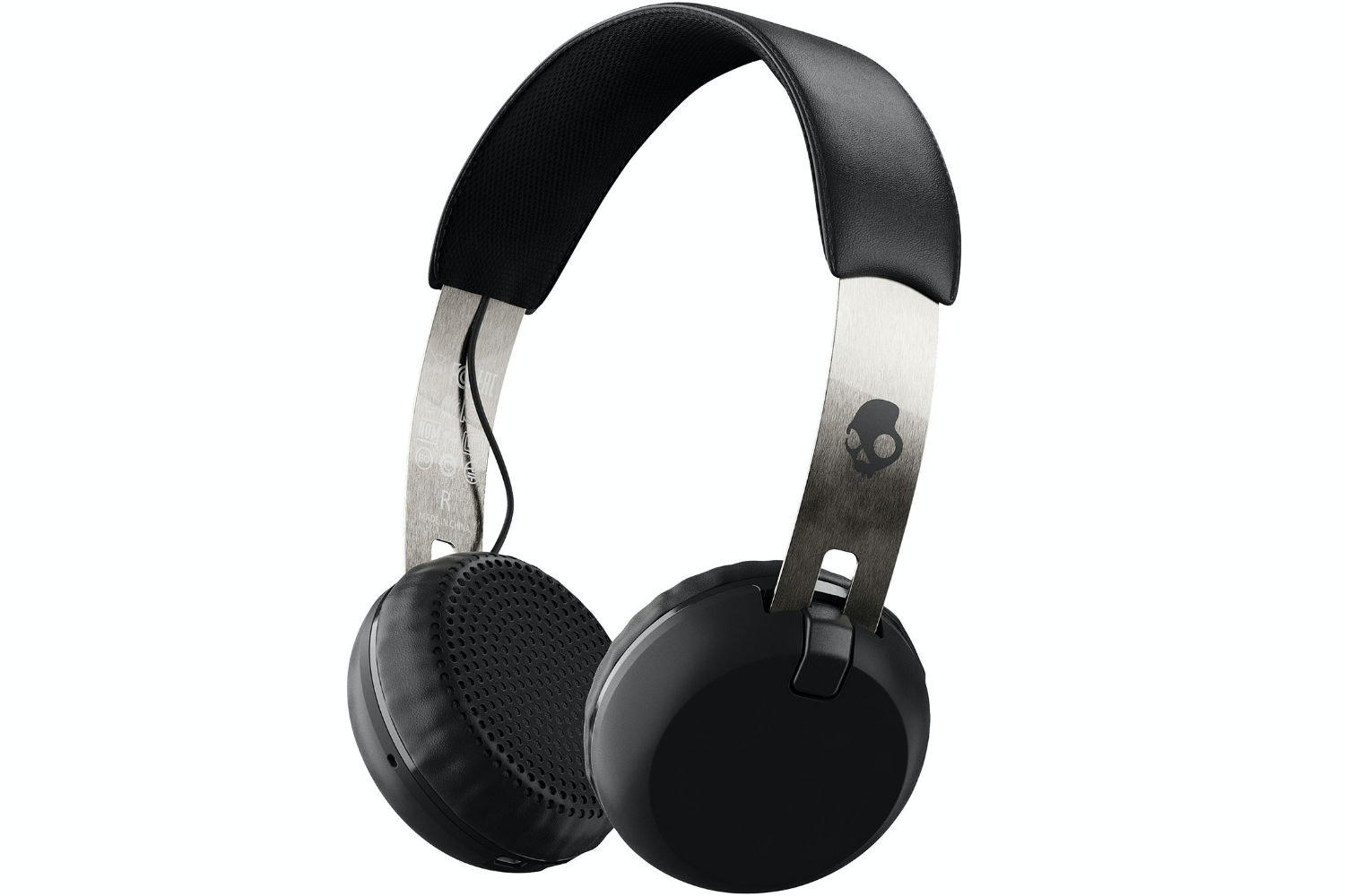 Skullcandy Grind Wireless Headphones | Black & Chrome