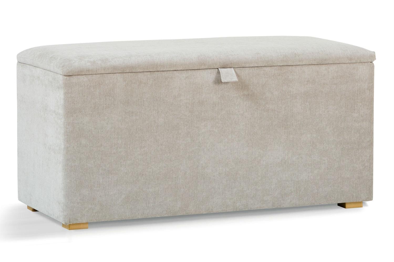 Osbourne Blanket Box | Light Grey
