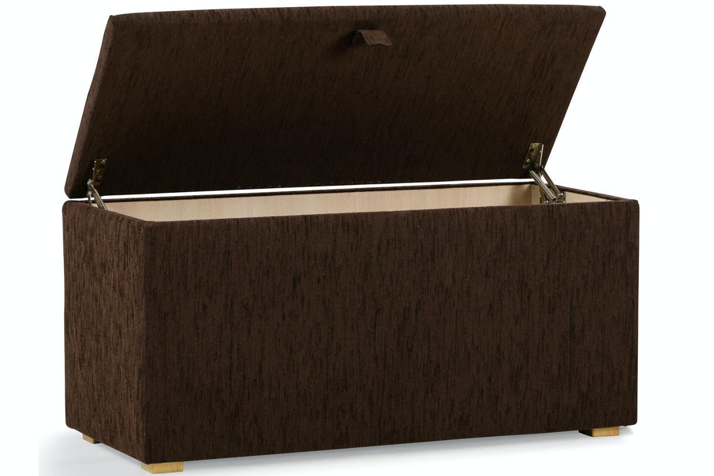 Osbourne Blanket Box | Manhattan Brown
