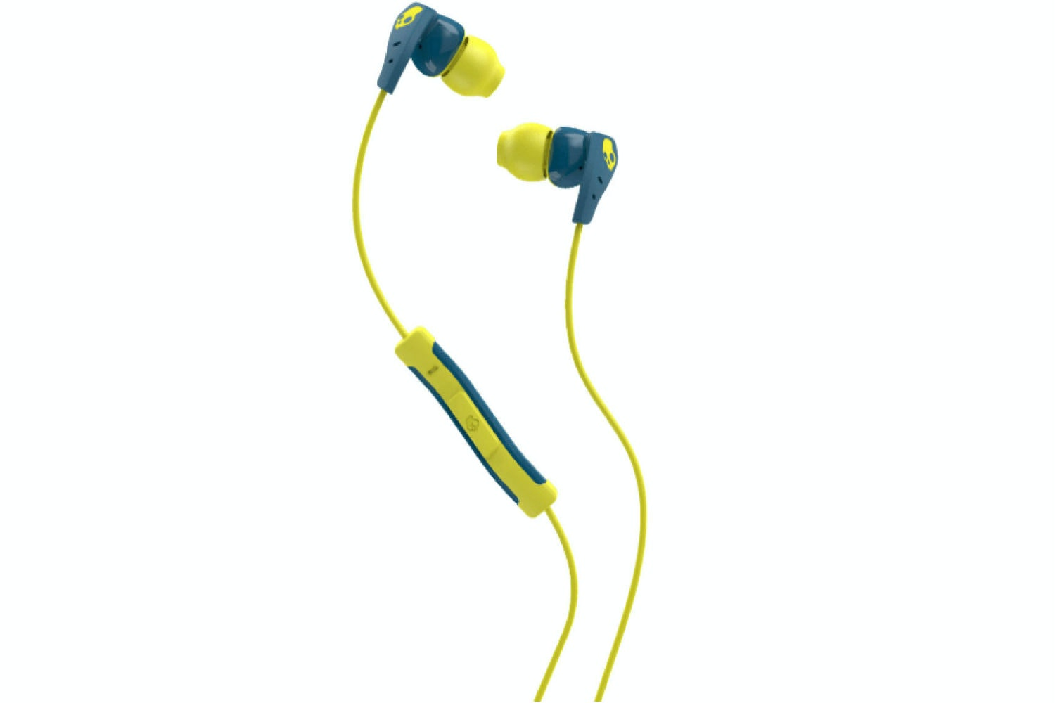 Skullcandy Ink'd 2.0 Earphones Teal & Acid