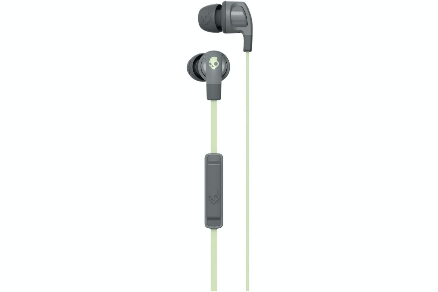 Skullcandy Smokin' Buds 2  Earphones | Grey & Mint