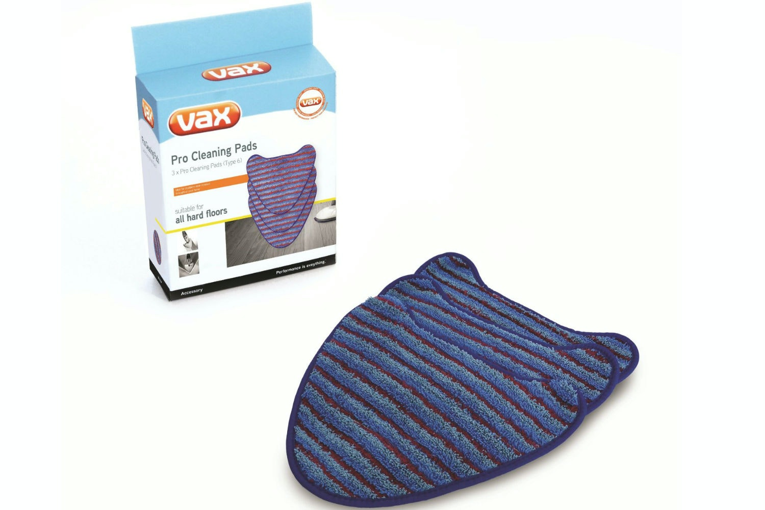 Vax Steam Pro Cleaning Pads | Type 6