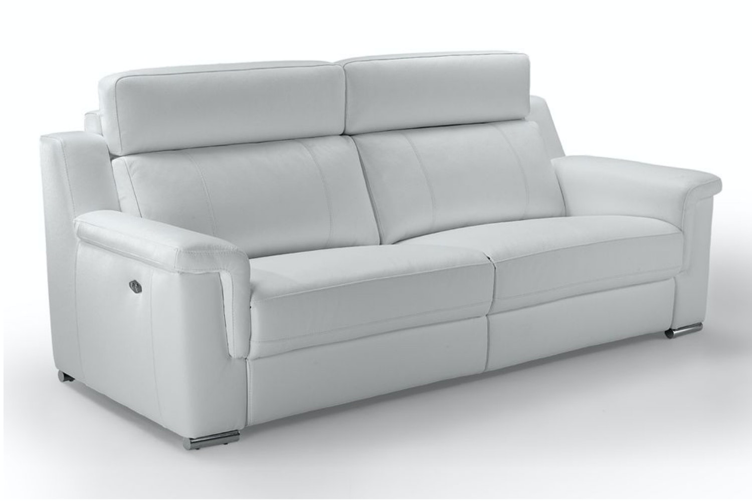 Vulcano 3 Seater Leather Sofa