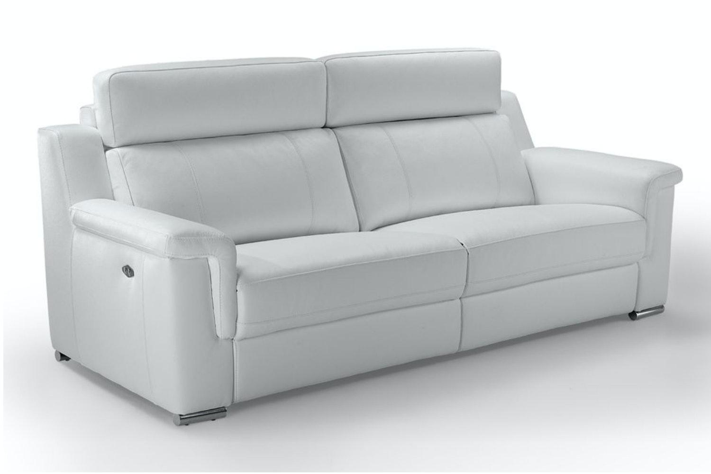 Vulcano 3 Seater Leather Sofa