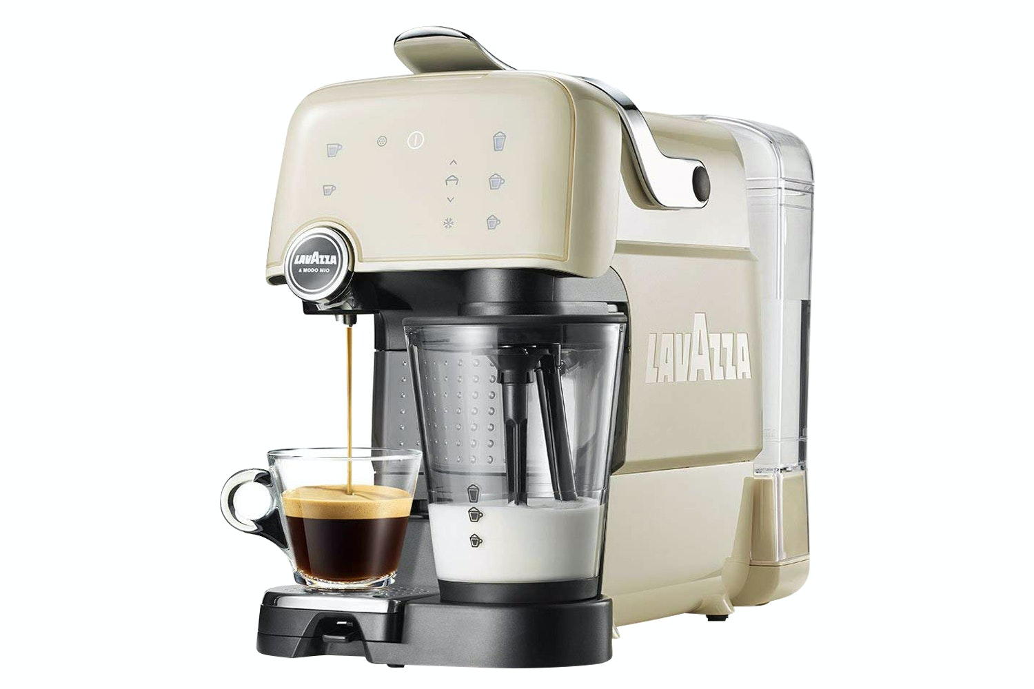 Lavazza Fantasia Coffee Machine | Creamy White