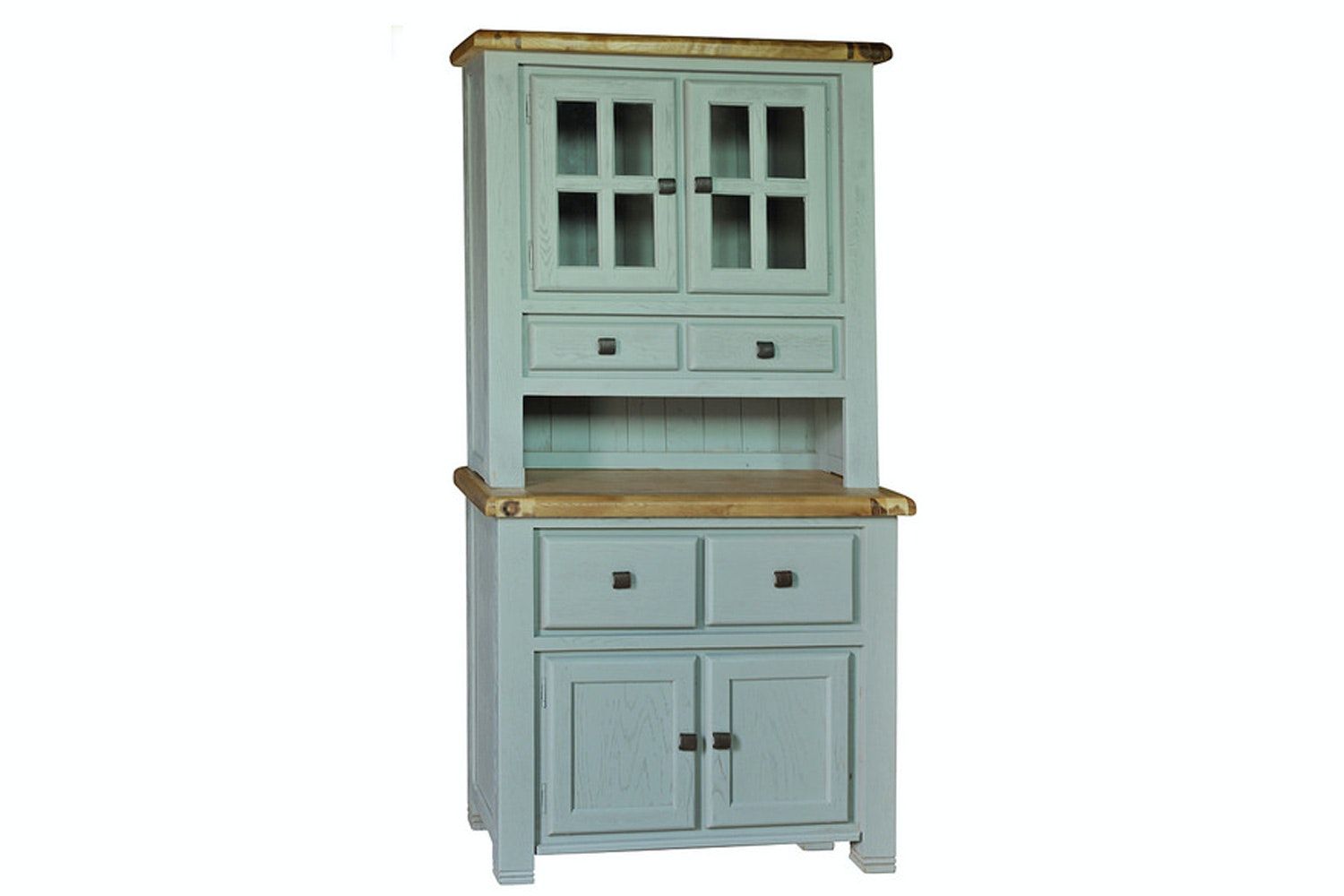 Queenstown Small Buffet & Hutch | Painted Grey