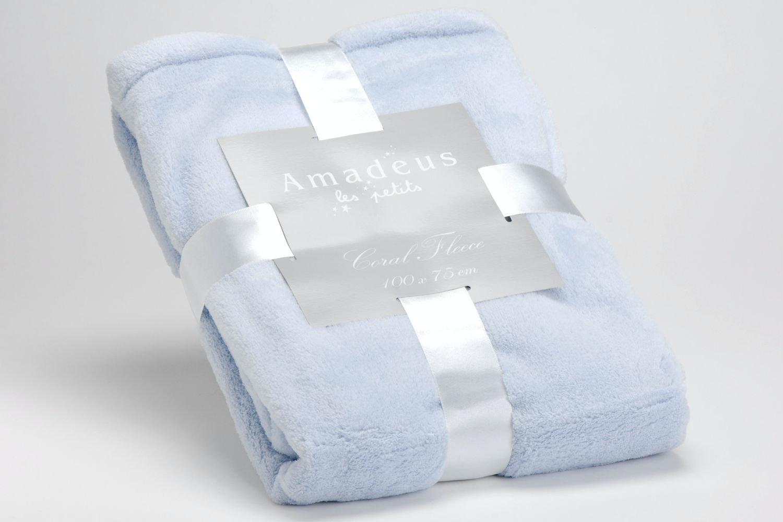 Amadeus Baby Blanket Blue
