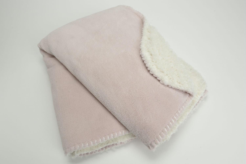 Amadeus Cocoon Baby Blanket | Old Pink
