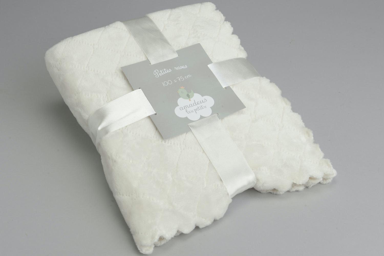 Amadeus Delicate Baby Blanket | Cream