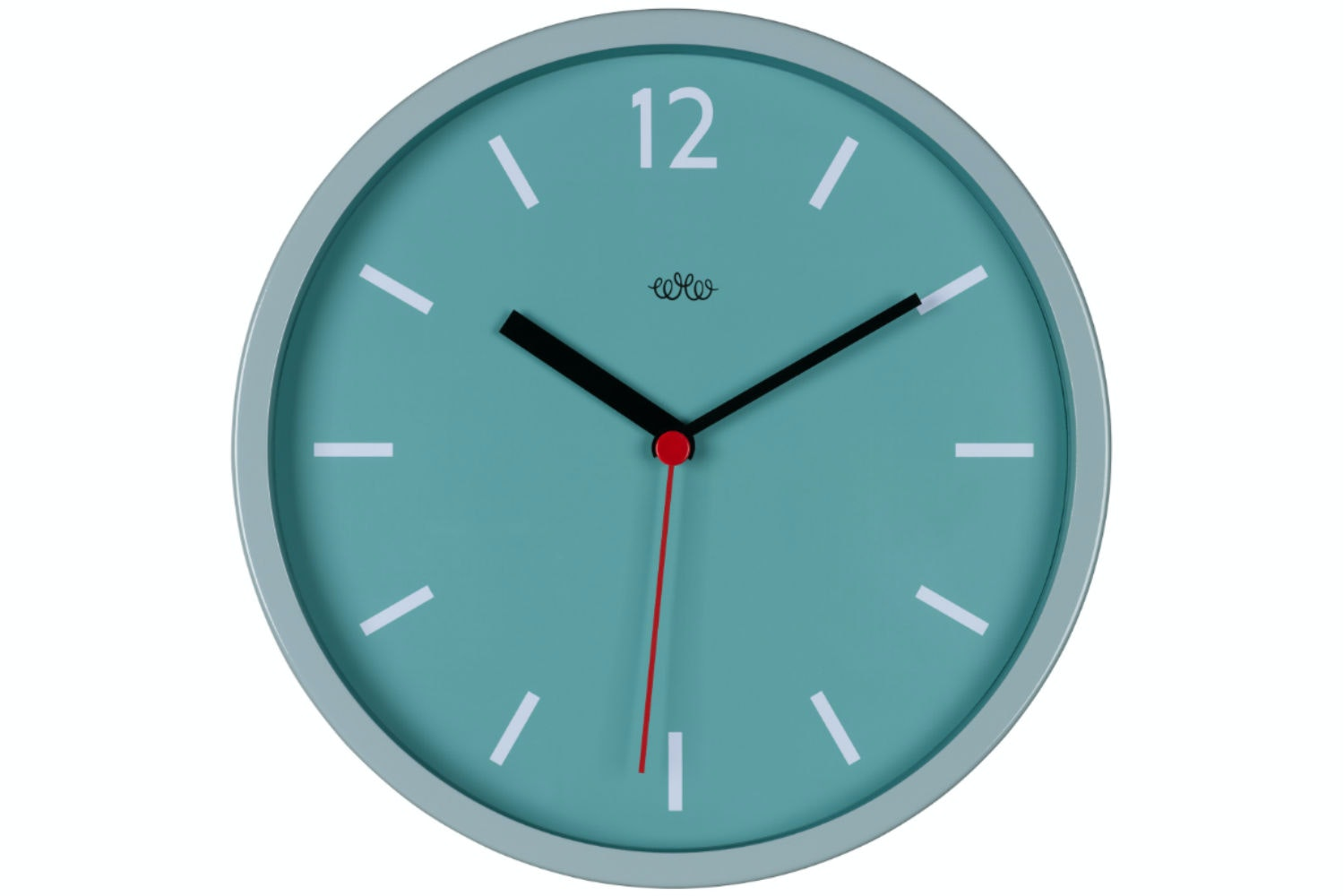 French Blue Wall Clock
