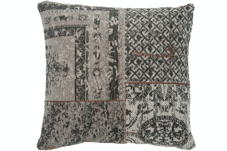 Chenille Cushion Grey | Small