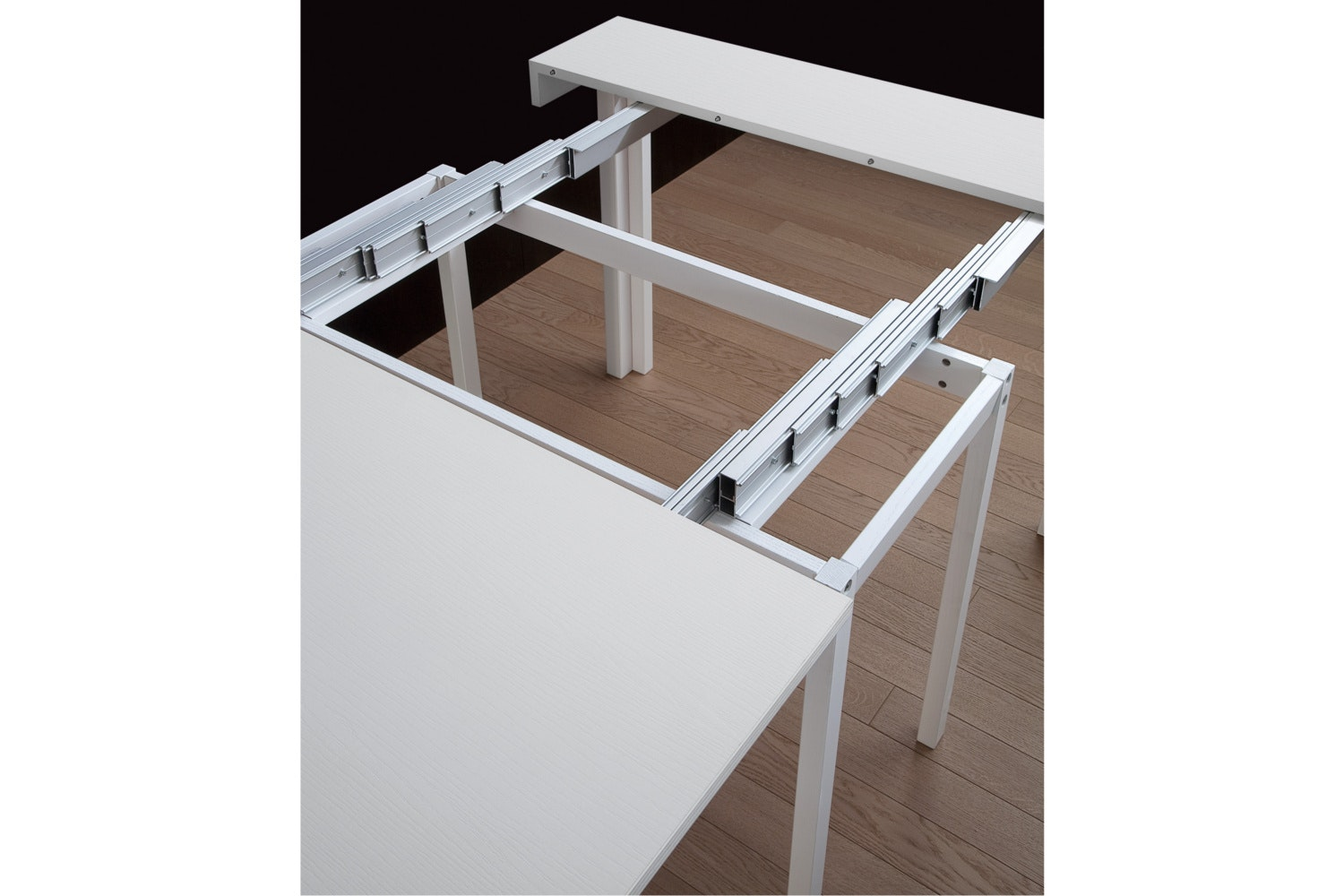 ... Cosmo Extending Console Table   White
