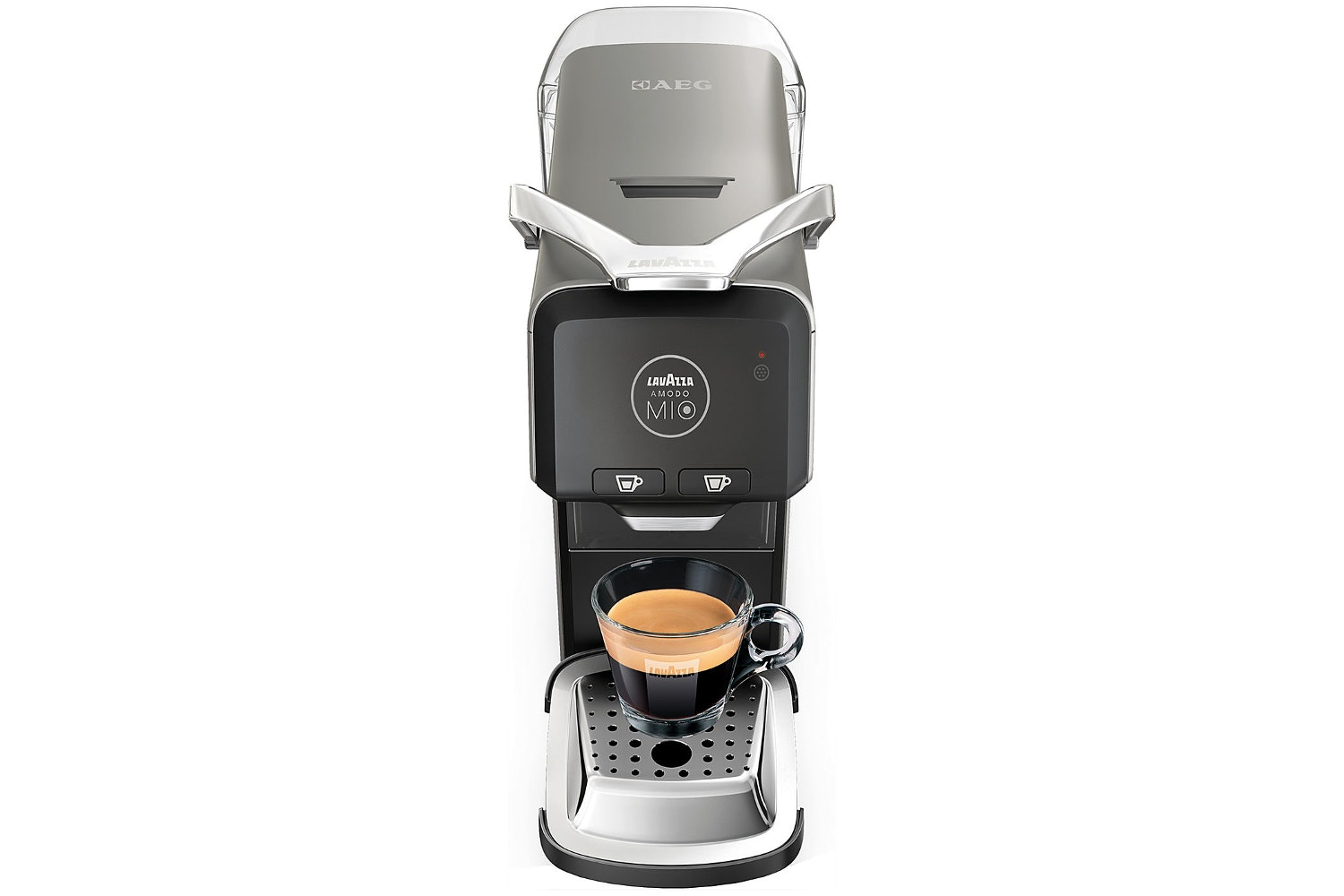 Lavazza Coffee Machine Espria Plus | Metallic Grey