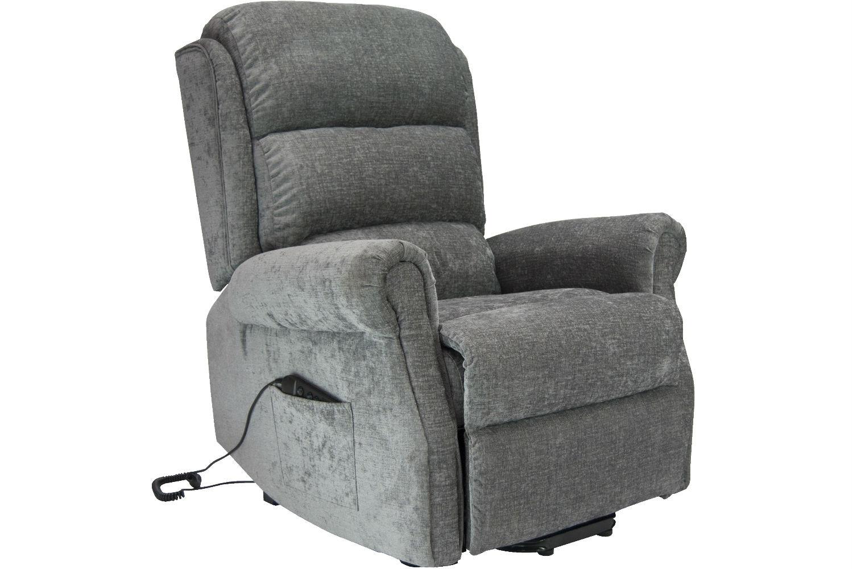 Hudson Recliner Chair   Steel