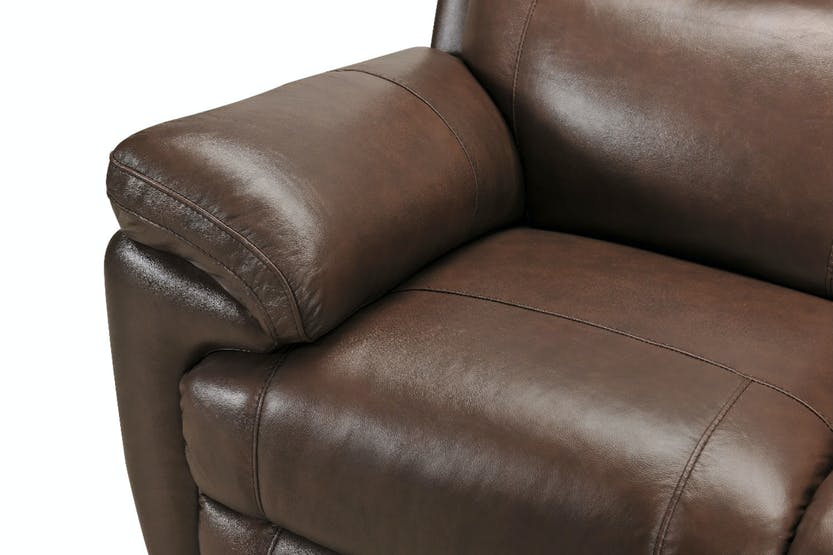 Maya 3 Seater Recliner | Manual | Leather