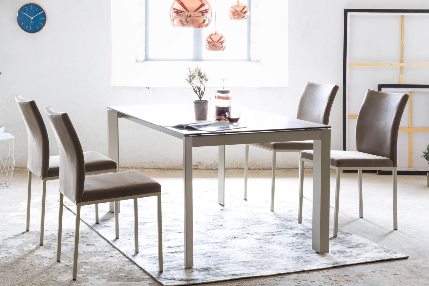 Milano 5-Piece Dining Set