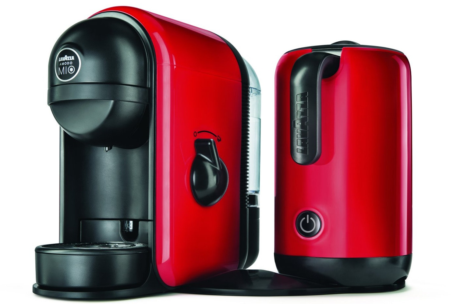 Lavazza Minu Caffe Latte Coffee Machine | Red