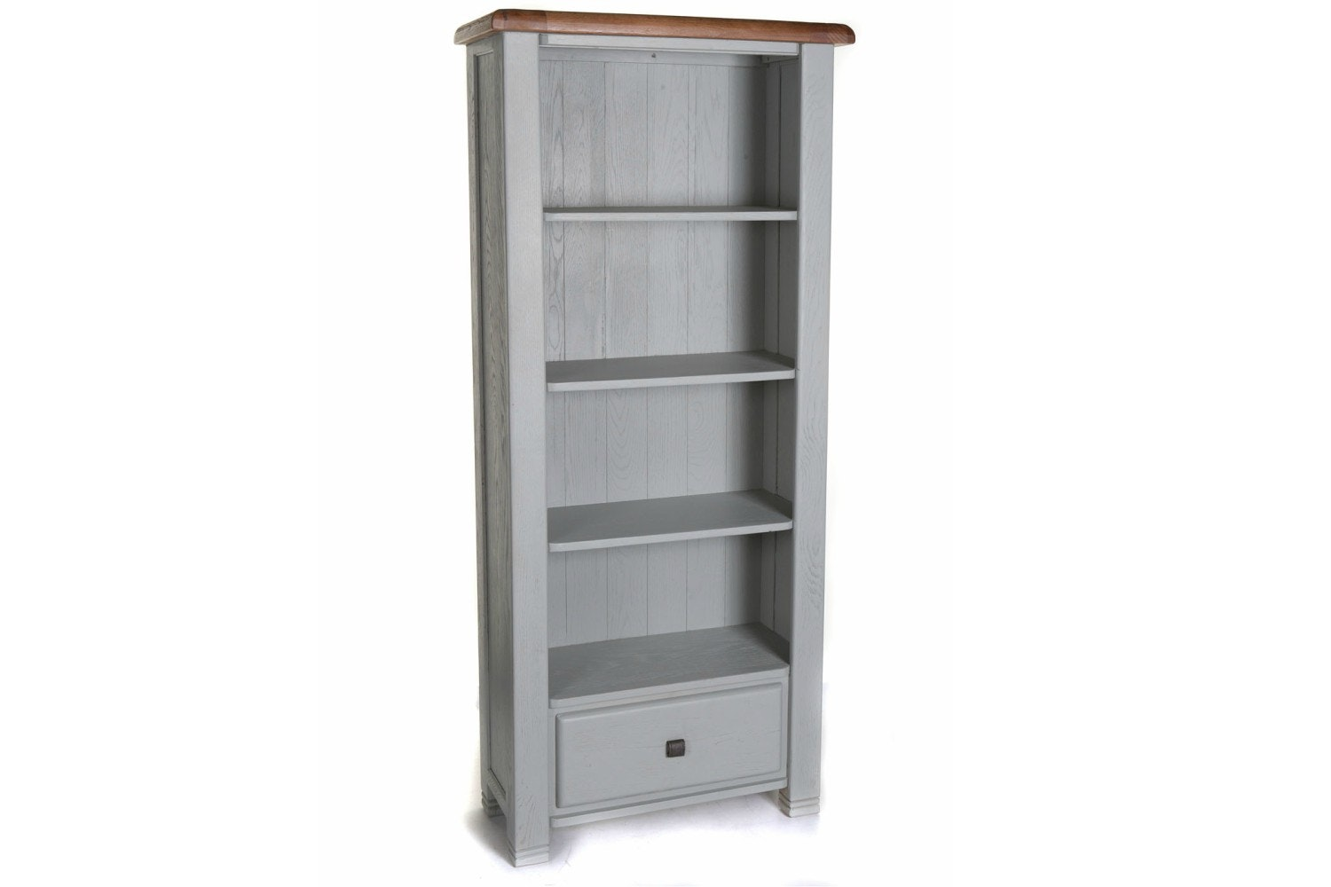 Queenstown Bookcase | Painted Grey