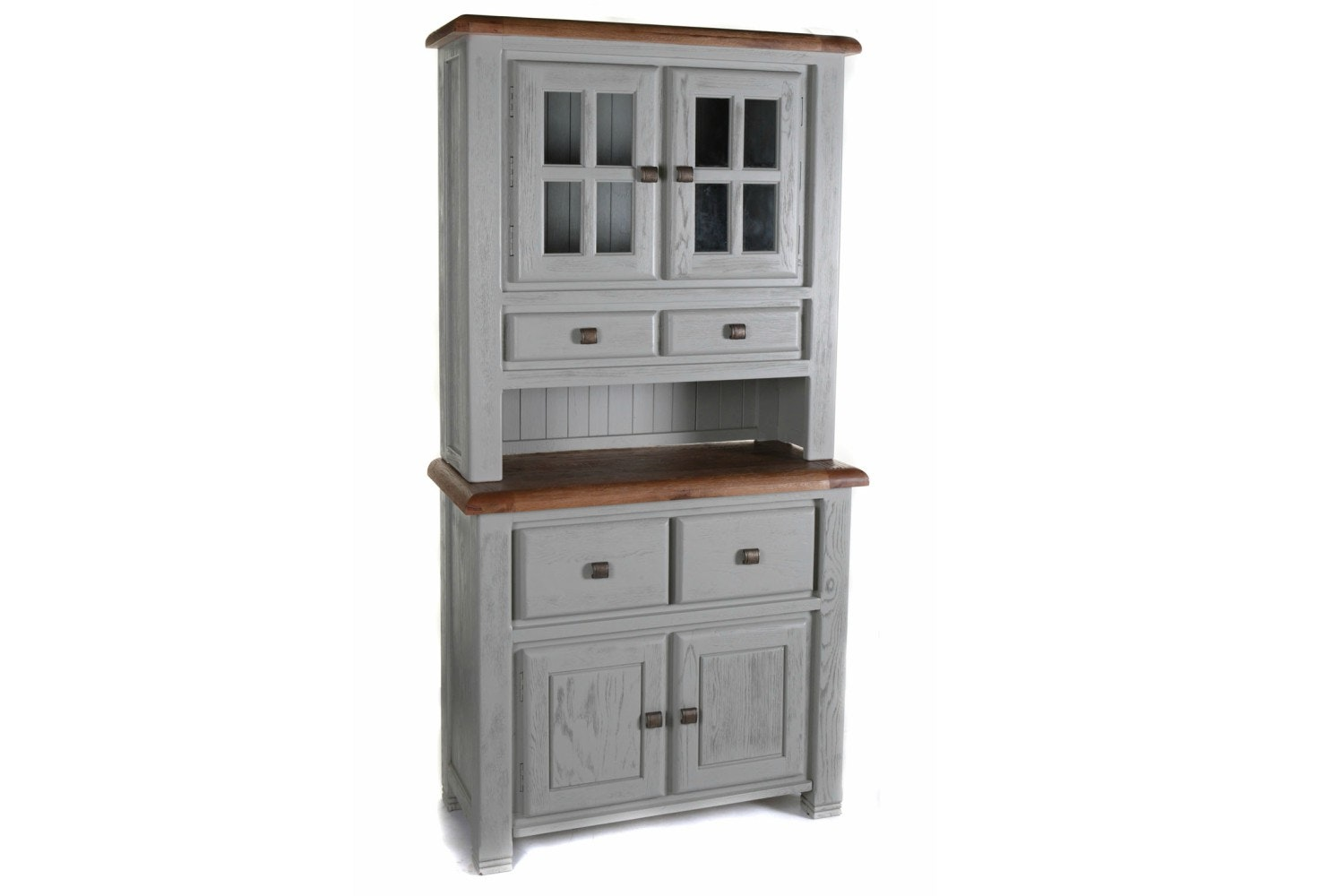 Queenstown Large Buffet & Hutch | Painted Grey