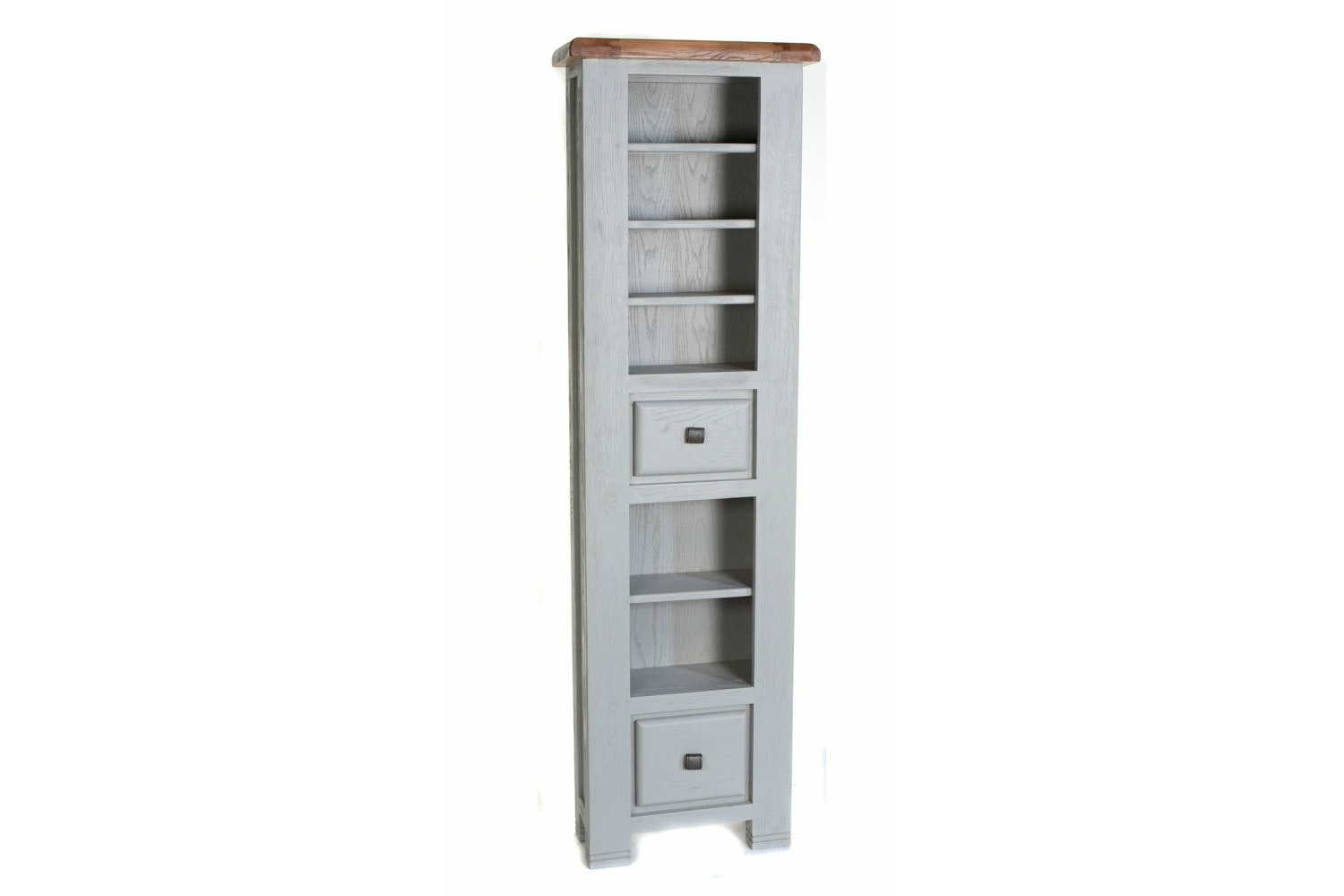 Queenstown CD/DVD Rack | Painted Grey